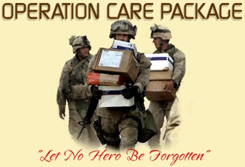 From the troops i just wanted to drop you all a line and say thank you for the care packages you are sending to the marines and myself i know not everyone writes m4hsunfo